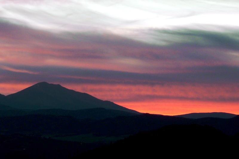 Sunset Over Sopris