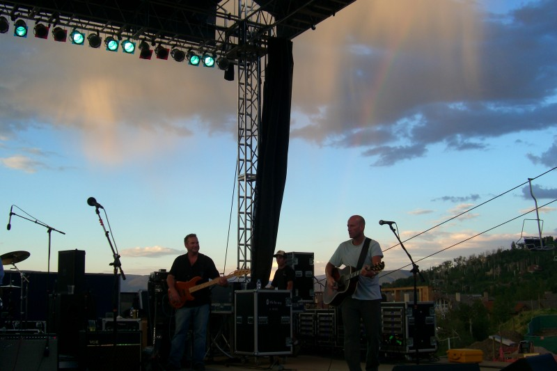 Freddy Jones Band at Snowmass Summer Concert Series, on 4th of July weekend.